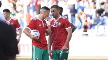 مفاجأة   هروب هداف المنتخب المغربي قبل أمم أفريقيا