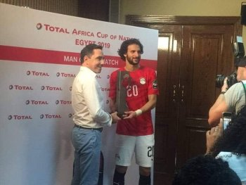 محمود علاء يحصل على جائزة أفضل لاعب  واول تعليق لنجم الزمالك