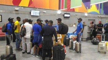 فضيحة في مطار القاهرة لمنتخب زيمبابوي