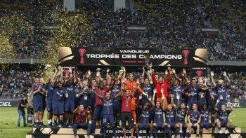 نجم ريال مدريد السابق يقود البى اس جى لخطف كأس السوبر الفرنسي