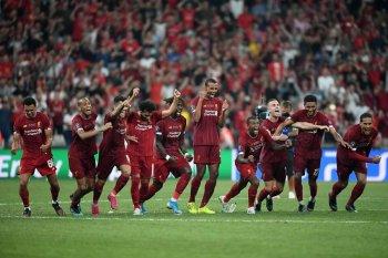 بالصور ..ليفربول يفوز بكأس السوبر الأوروبي بعد قتل البلوز وملخص لمسات صلاح
