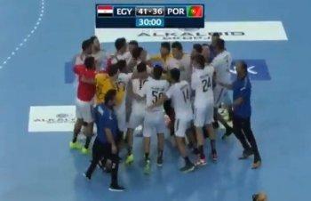 يد مصر تكسر البرتغال وتتأهل لنهائي مونديال الناشئين للمرة الأولى