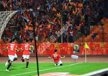بالفيديو والصور..البلدوزر الجديد يسجل ومصر تتعادل أمام الكاميرون