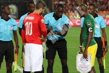 الاولاد تحرج منتخب مصر  الأولمبي فى نهاية الشوط الاول