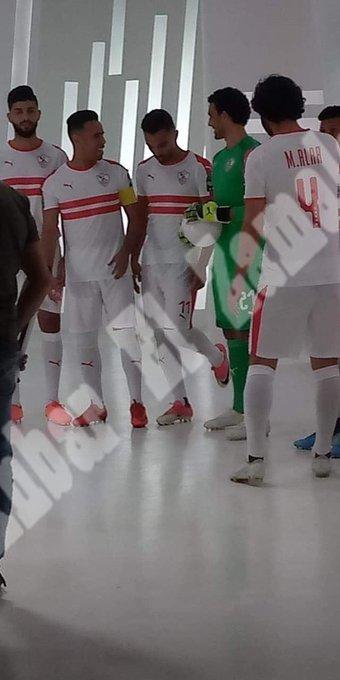شاهد | جلسة تصوير برومو قناة الزمالك بحضور لاعبي الفريق