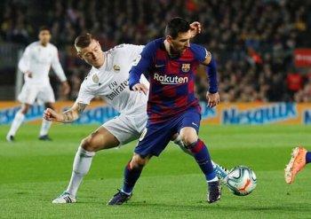 برشلونة يفلت من ريال مدريد فى كلاسيكو الارض