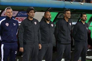 مدرب الزمالك يتحدث عن مباراة المصري القادمة