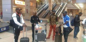 بعثة مازيمبى الكونغولي تصل القاهرة بالقوة الضاربة