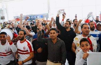 بالصور... استقبال حافل لبعثة الزمالك فى الإمارات والنحس يطارد عاشور