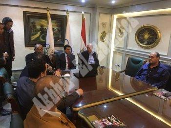 بالصور ....تعرف على تفاصيل اجتماع  حطب وصبحى مع رئيس اللجنة الأولمبية الدولية بالفيديو كونفرانس
