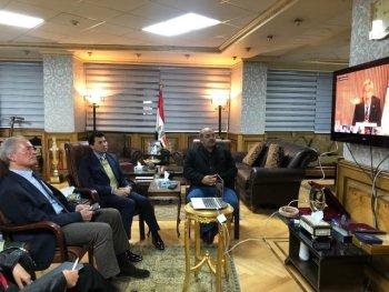 تفاصيل اجتماع وزير الرياضة مع توماس باخ وحسن مصطفى مع توماس باخ بالفيديو كونفرانس