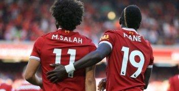 ليفربول يكشف موقفه النهائي بشأن رحيل صلاح وماني