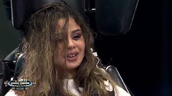 سقوط منة عرفة فى البركة مع مصورين رامز مجنون رسمى  يقلب تويتر