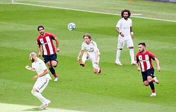ريال مدريد  قطار لا يتوقف دهس بلباو في طريق لقب الليجا  .برشلونة يدمر غواصات فيا ريال