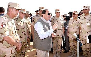 الجيش المصري يتصدر محركات البحث بعد قرار موافقة البرلمان على الحرب في ليبيا