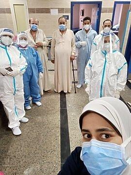 بيان وزارة الصحة اعلى نسبة تراجع فى أعداد المصابين الوفيات  بفيروس كورونا  وفضيحة مستشفى فى كفر الشيخ