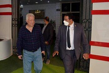مرتضي منصور  يهاجم  رئيس الوزراء فى حفل  افتتاح منشآت الزمالك ..وتعليق اشرف صبحي