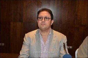 رئيس  نادى شباب المحمدية ساكرم الزمالك فى المغرب