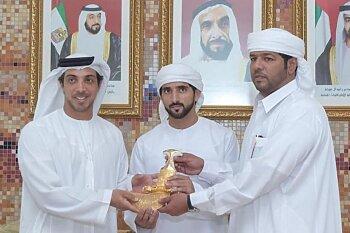 """حمد غدير: """"يد الظفرة"""" الإماراتي يستعد بقوة لحصد بطولة"""