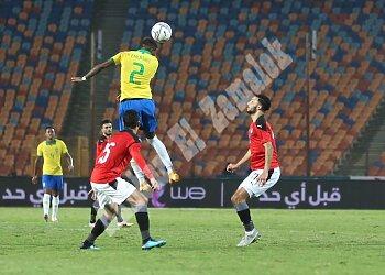 "بالصور..منتخب مصر ""تقيل""...تراقص بالبرازيل"