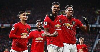 انتصار صعب لمانشستر يونايتد أمام أستون فيلا واشتعال الدوري الإنجليزي