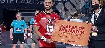 السيسي يفتتح بطولة كأس العالم لكرة اليد مصر 2021  والفوز على تشيلي وونجم الزمالك رجل المباراة