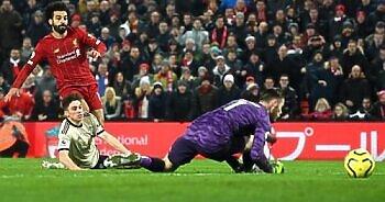 مباراة ليفربول ومانشستر يونايتد . نتيجة صادمة