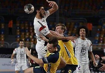 مبارة مصر والسويد في كأس العالم لكرة  اليد ..خسارة في الوقت القاتل وتعرف على مجموعة مصر فى الدور الثاني