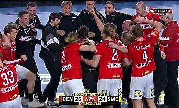 الدنمارك تفوز ببطولة كأس العالم لكرة اليد مصر 2021