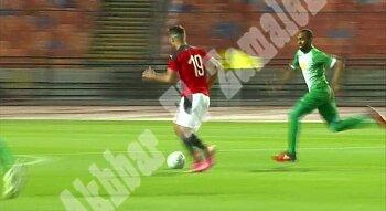 منتخب مصر القمر هزم جزر القمر