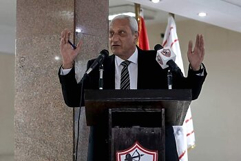 اول تعليق من عماد عبد العزيز  بعد قرار الوزير برفض استقالة لجنة الزمالك وعودة المشطوبين
