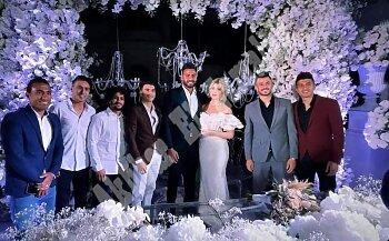 بالصور نجوم الزمالك بقيادة الاباتشي فى حفل زفاف ابو جبل وجماهير الزمالك تقلب الفيس بوك