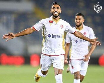 محمد اوناجم يسجل فى فوز الوداد المغربى