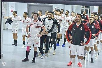 الليلة بعد الإفطار كوماندوز يد الزمالك على موعد مع بطولة جديدة  يواجه الاهلي فى نهائي كأس مصر