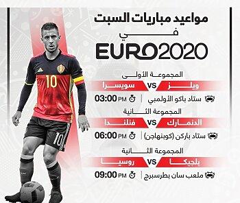 فوز إيطاليا والسعودية والامارات وسقوط تونس أمام الجزائر .. و3 مواجهات نارية فى يورو 2020 و5 مباريات قوية .. تعرف على المواعيد