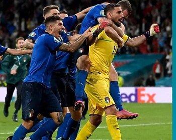 شاهد إيطاليا  بطل يورو 2020 وسقوط إنجلترا  بضربات  الجزاء الترجيحية