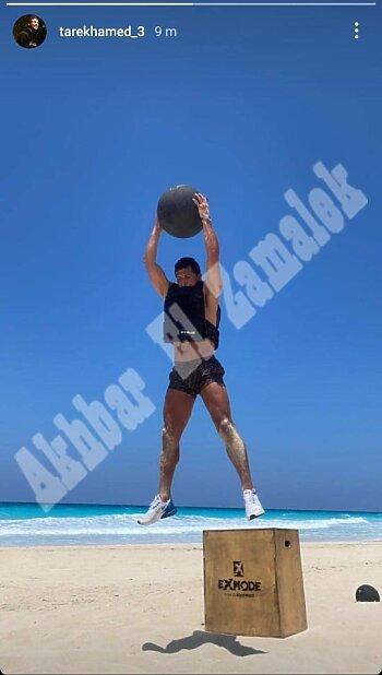 الزمالك يستأنف تدريباته على ملعب الشواكيش  استعدادا لمواجهة غزل المحلة .. وطارق حامد يستعد على شط البحر