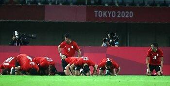 المنتخب الأولمبي يتأهل لمواجهة البرازيل في ربع نهائي أولمبياد طوكيو  .. تعرف على المنتخبات المتاهلة الى دور الثمانية