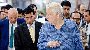 تفاصيل جلسة مرتضى منصور مع أشرف صبحي قبل العودة للزمالك