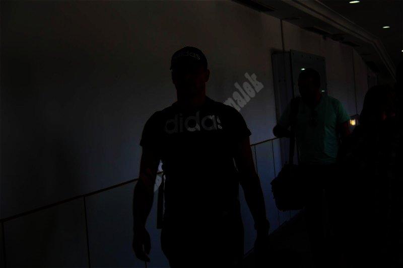 وصول بعثة الزمالك لتونس [ تصوير: سارة عبد الباقي]