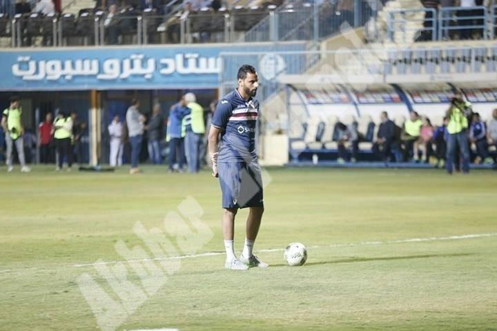 الزمالك 3 ـ 0 طلائع الجيش [تصوير: سارة عبد الباقي]