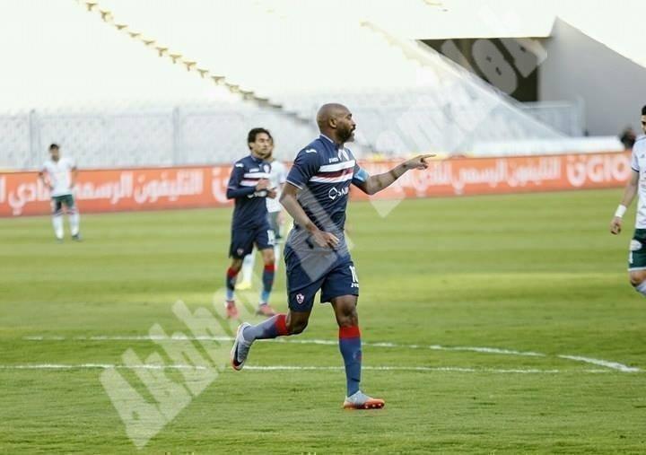 الزمالك 1 ـ 0 المصري [تصوير: سارة عبد الباقي]