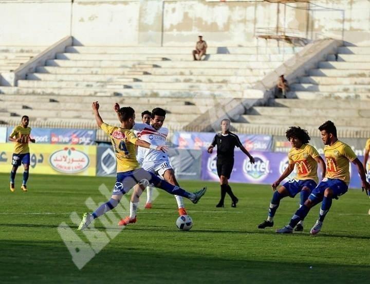 الزمالك 0 ـ 0 طنطا [تصوير: سارة عبد الباقي]