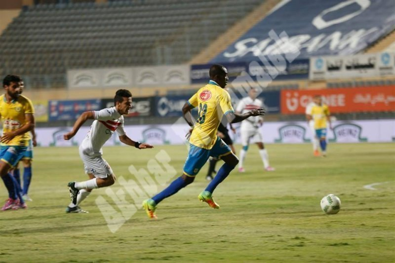 الزمالك 0 ـ 0 الإسماعيلي [تصوير: سارة عبد الباقي]