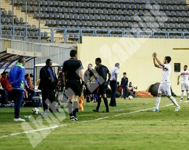 الزمالك 2 ـ 1 المقاولون العرب [تصوير: سارة عبد الباقي]