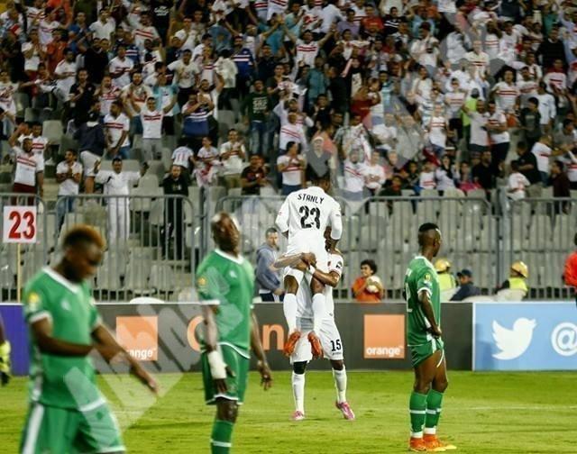 الزمالك 2 ـ 0 كابس يونايتد [تصوير: سارة عبد الباقي]