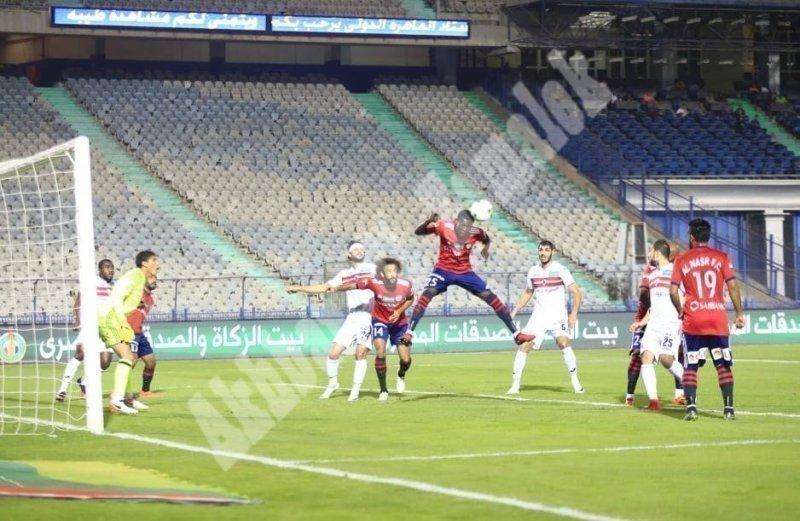 الزمالك 2 ـ 1 النصر [تصوير: سارة عبد الباقي]