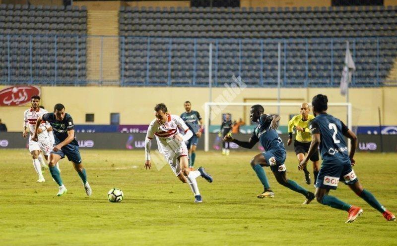 الزمالك 0 ـ 0 إنبي [تصوير: سارة عبد الباقي]