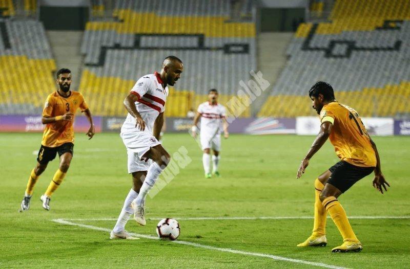 البطولة العربية | الزمالك 0 ـ 0 القادسية الكويتي [تصوير: سارة عبد الباقي]