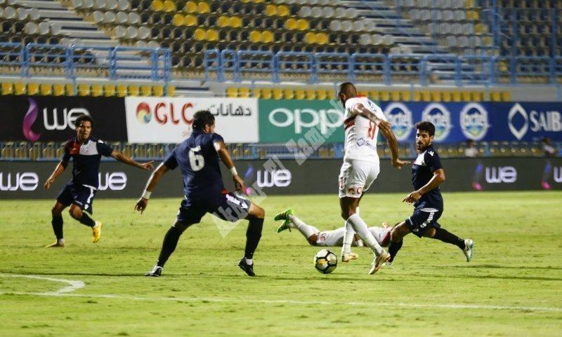 الجولة الرابعة| الزمالك 0 ـ 1 النجوم [تصوير: سارة عبد الباقي]